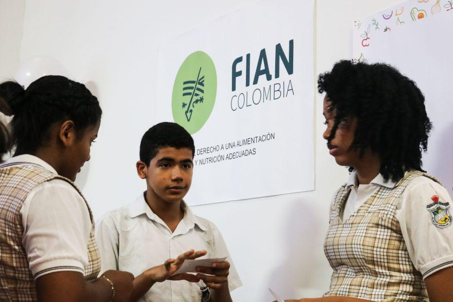 Jóvenes de Cartagena FIAN